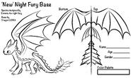 Dragon5GMA New Night Fury Base