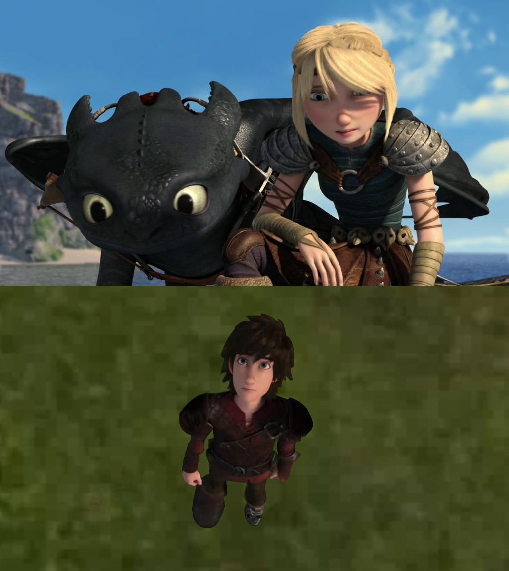 how to train your dragon race to the edge characters