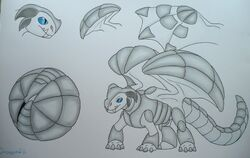 Draginfli's Armadillo Dragon
