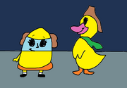 Edwina Egg and Ming-Ming Duckling