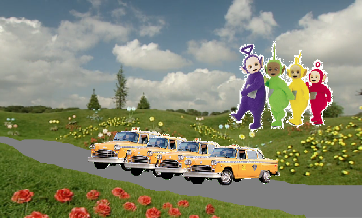 Teletubbies New Magical Event Racing Taxis Stuff