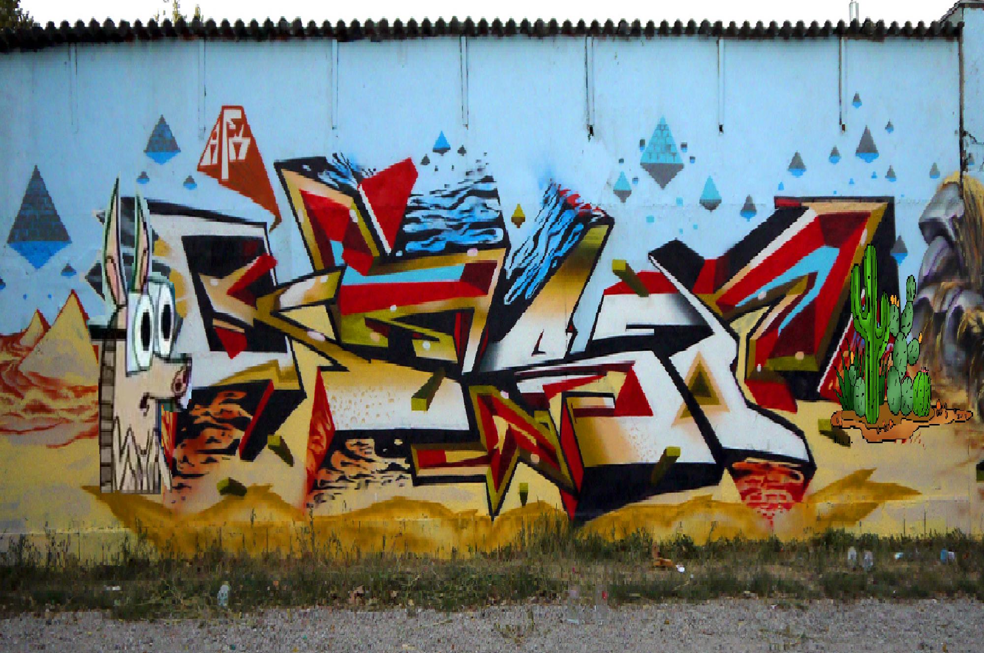 Graffiti Art Mural Ideas
