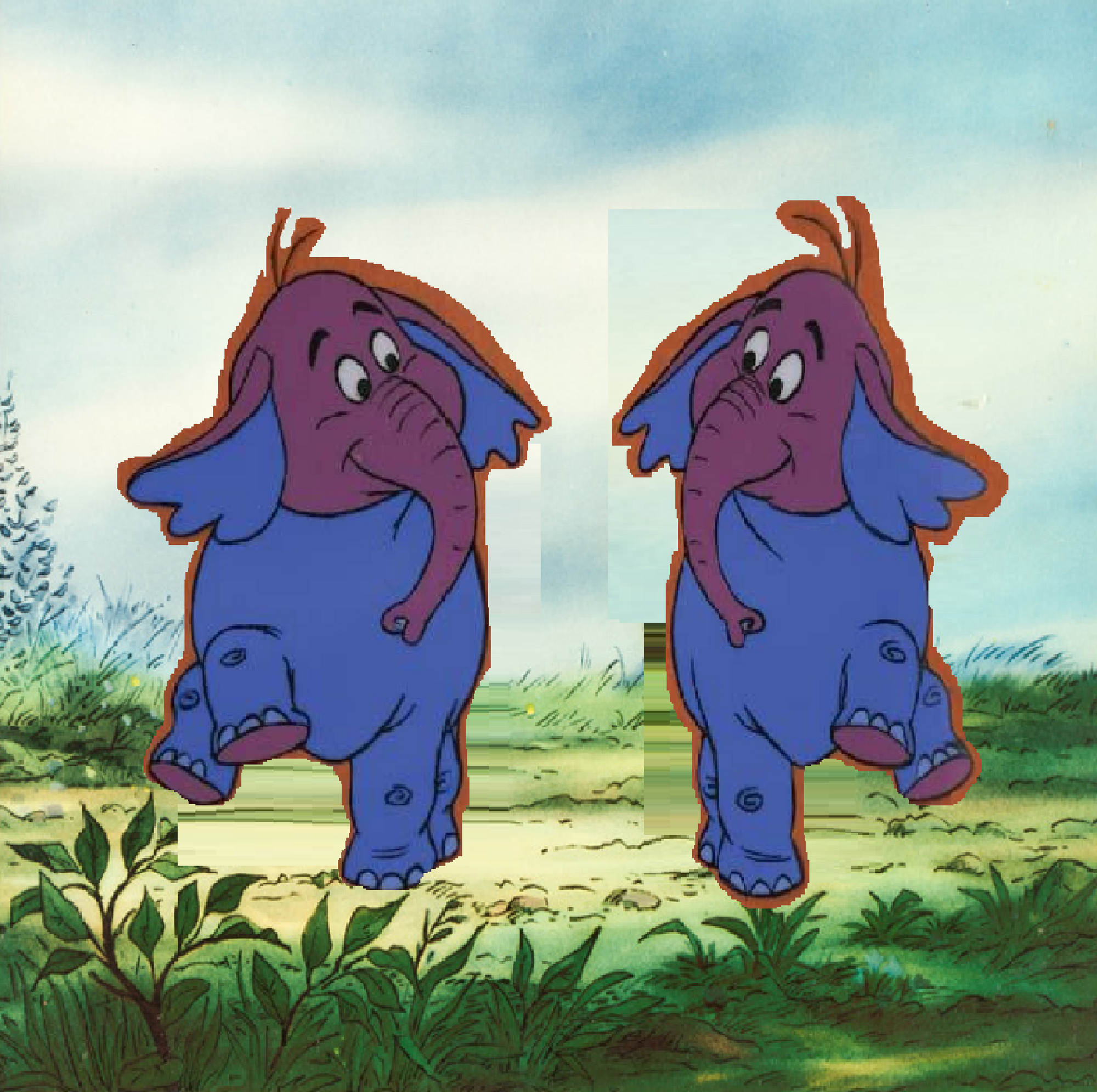 Disney, Winnie The Pooh And The Blustery Day, 1968, Two
