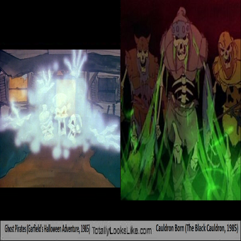 Totally Looks Like Ghost Pirates Garfield S Halloween Adventure 1985 Cauldron Born The Black Cauldron 1985 Blogspot Stuff Hub Ideas Wiki Fandom
