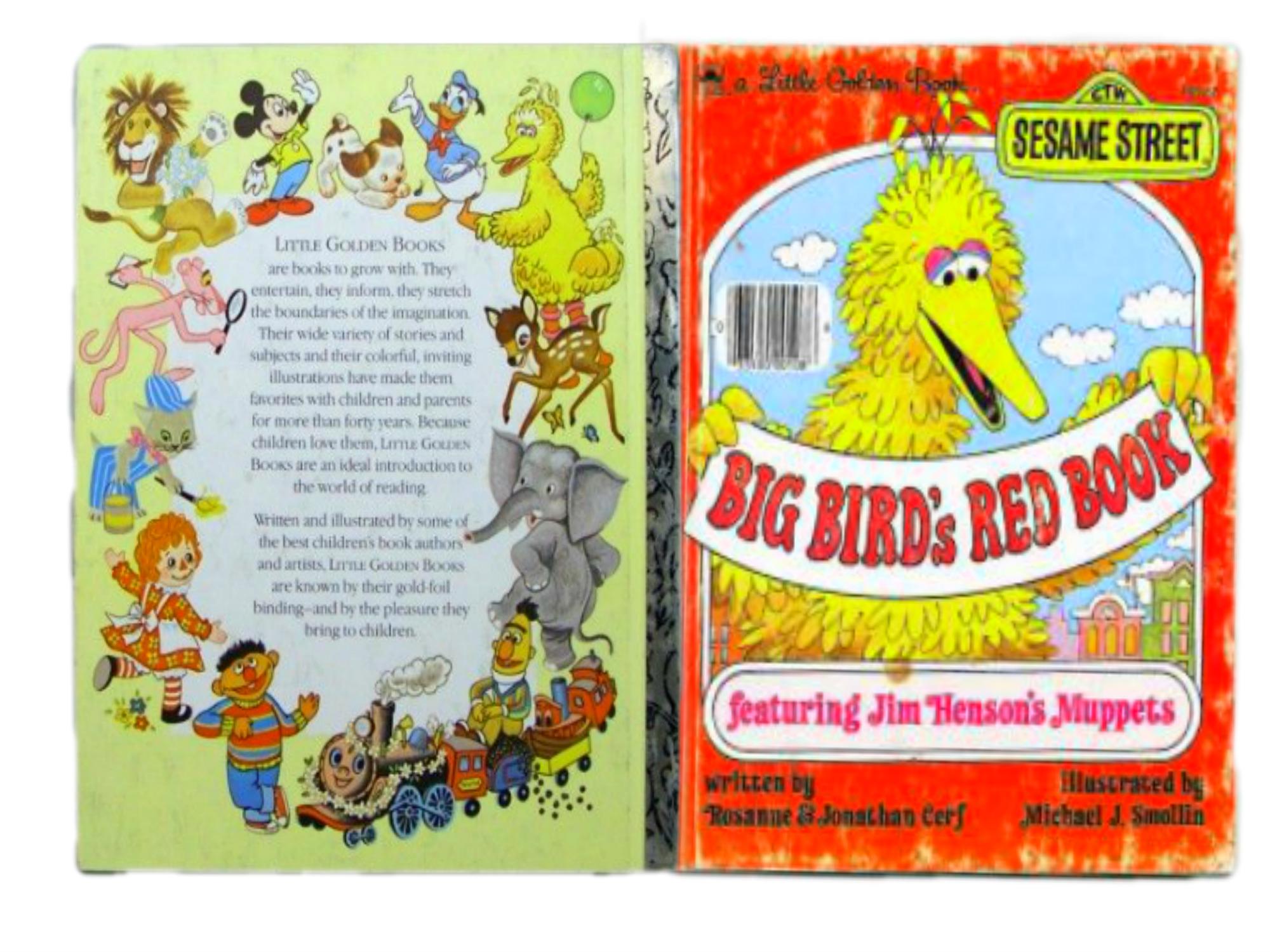 b6b837e6beb35 Big Bird s Red Book (A Little Golden Book