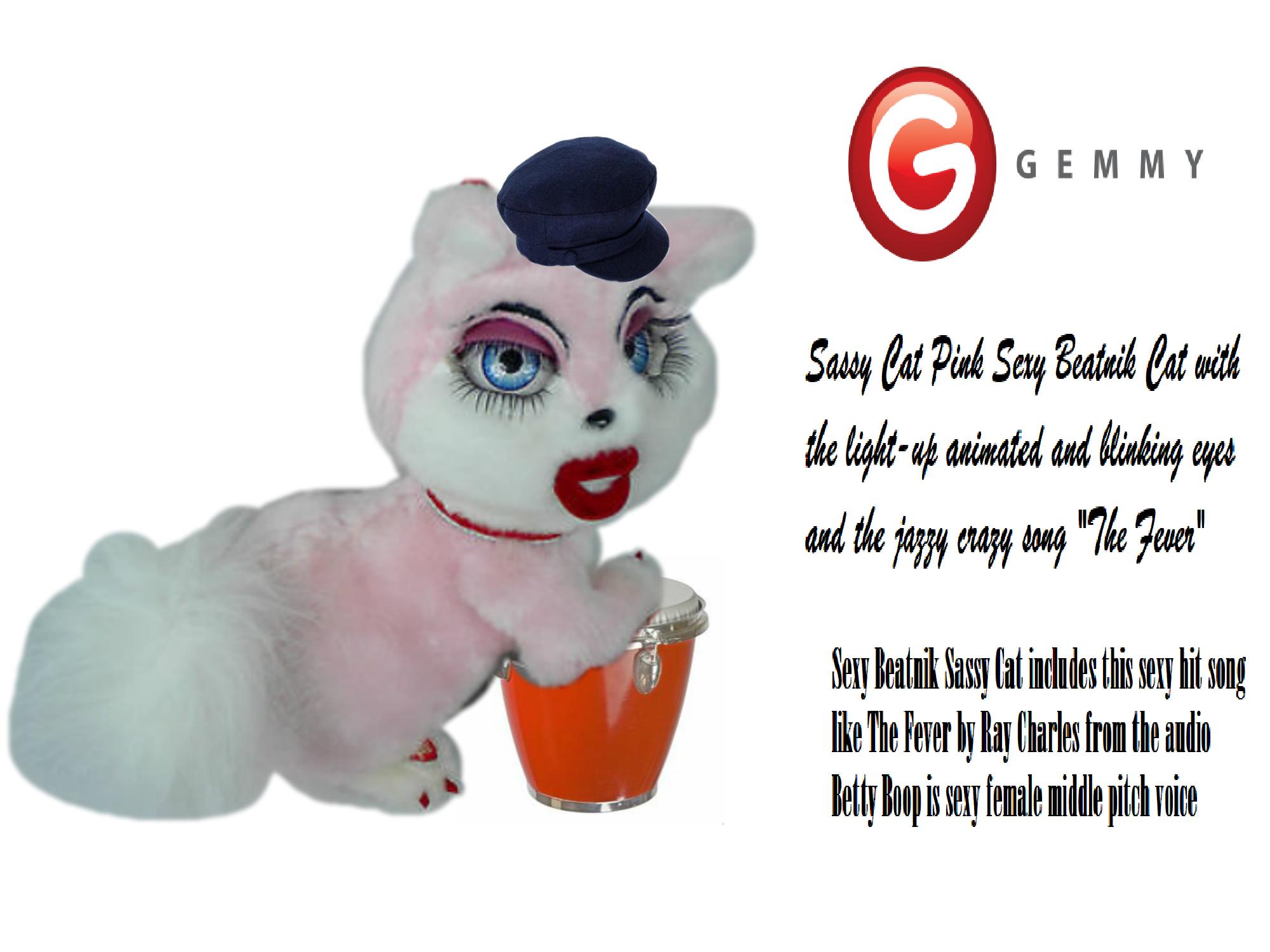 Gemmy Industries (2004) - Singing Sexy Beatnik Female Sassy