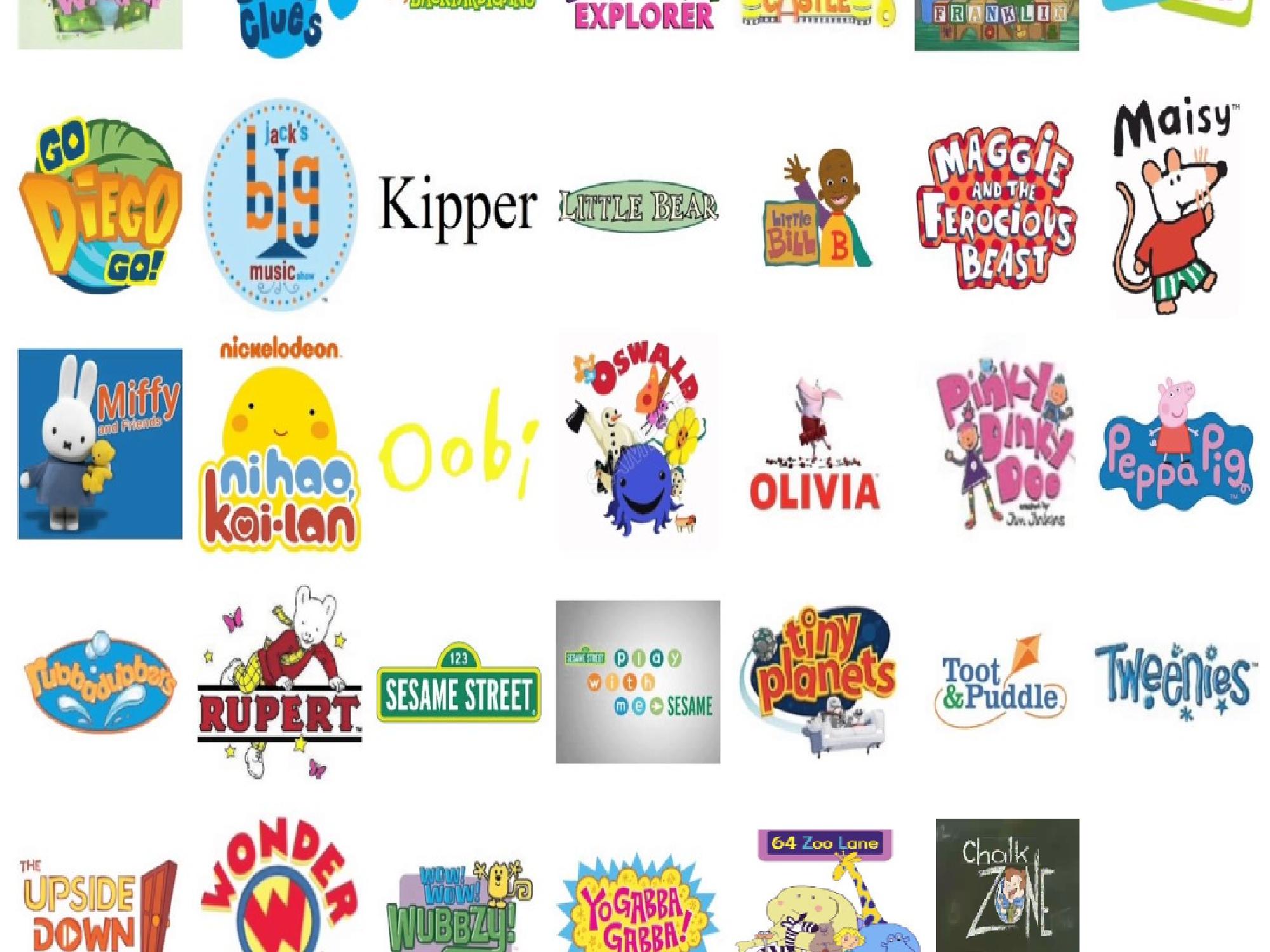 All Nick Jr  shows (except Dora) (DeviantArt stuff) | Hub