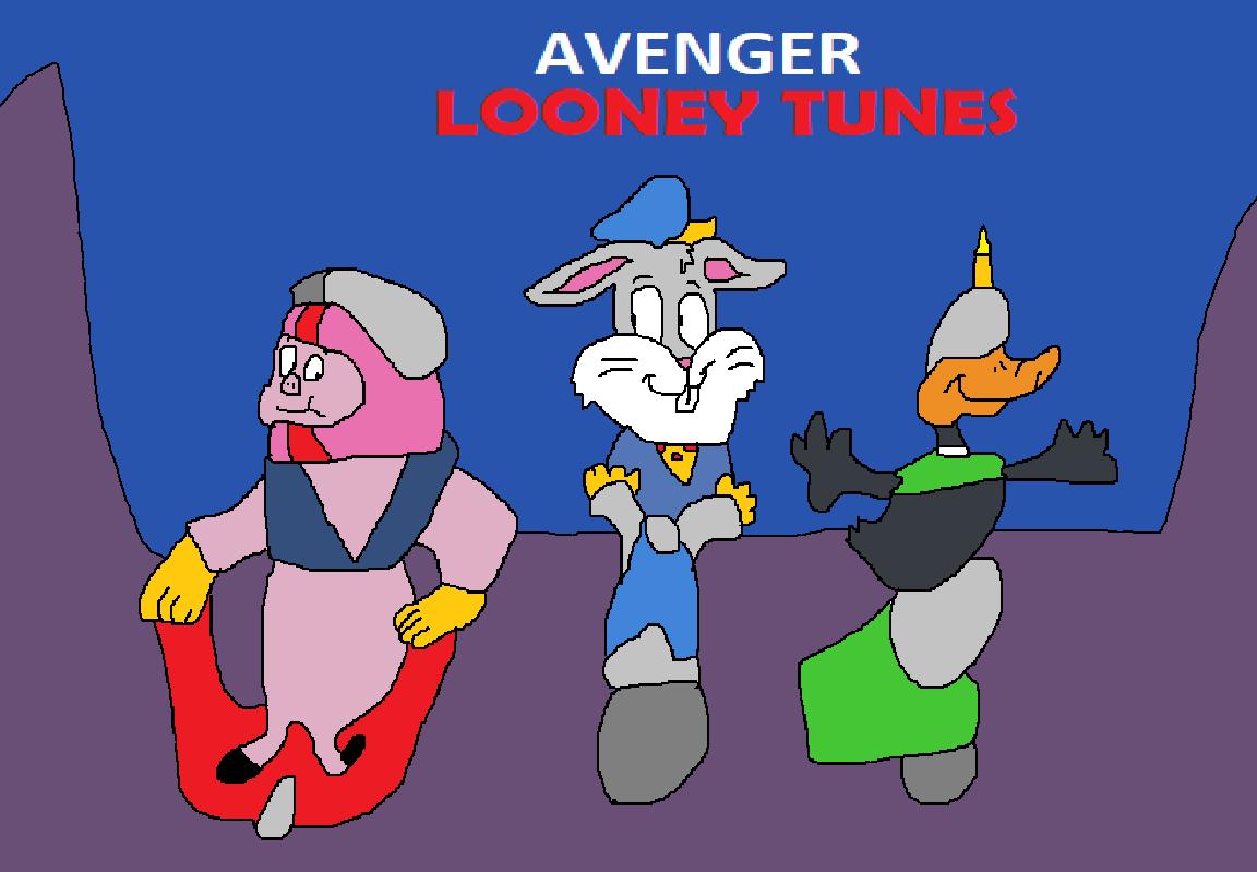 Avenger Looney Tunes Avenger Penguins Deviantart Stuff