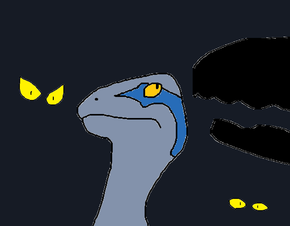 When Blue Meets Indoraptor