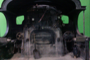Cabview of the locomotive