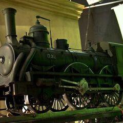 quarter scale model of the locomotive