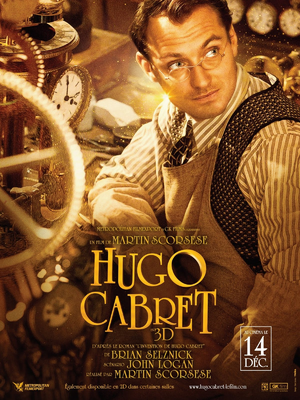 Hugo Cabret Movie Poster French 5