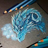 Ice dragon by alviaalcedo-dbvuviy