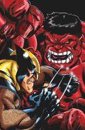 Wolverine vs red hulk by kiara kitsu-d5zgr41