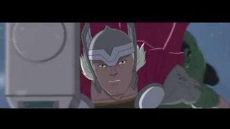 """Hulk and the Agents of SMASH - """"Hulks on Ice"""" Clip"""