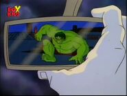 Rearview mirror Hulk
