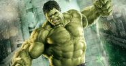 Hulk green bro