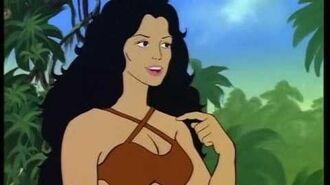 Hulk loves cave woman