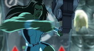 She-Hulk In Action
