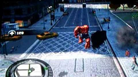 Red Hulk In The Incredible Hulk X-Box 360 Version