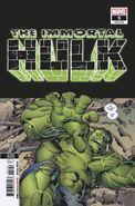 Immortal Hulk Vol 1 5 Second Printing Variant