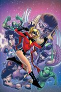 Immortal Hulk Vol 1 3 Carol Danvers 50th Anniversary Variant Textless