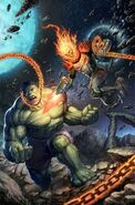Immortal Hulk Vol 1 6 Cosmic Ghost Rider Vs. Variant Textless (1)