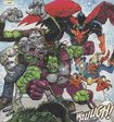 Fearsome Four (Earth-11086) from Fear Itself Fearsome Four Vol 1 1 0001