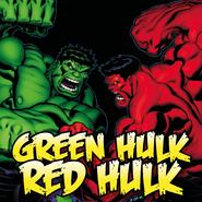 Green Hulk Red Hulk