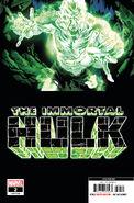 Immortal Hulk Vol 1 2 Bennett Fifth Printing Variant