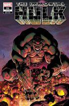 Immortal Hulk Vol 1 31 Shaw Variant