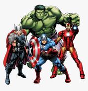 94-947203 transparent-vector-clipart-hulk-captain-america-iron-man