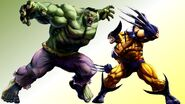 Hulk vs wolverine by orange kraken