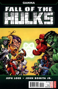 Fall of the Hulks Gamma Vol 1 1 2nd Printing