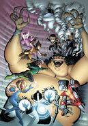 Immortal Hulk Vol 1 9 Uncanny X-Men Variant Textless