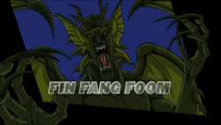 Fin Fang Foom Agents of Smash