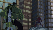 She-Hulk,Hulk and spidey