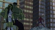 She-Hulk,Hulk and spidey