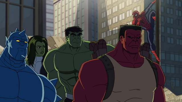 File:The team and spidey.png