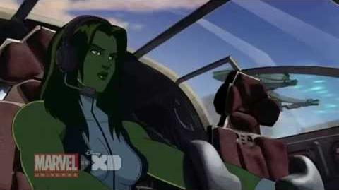 Marvel's Hulk and the Agents of S.M.A.S.H. Season 2, Ep. 25 - Clip 1