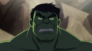 Hulk is looking to the skaar-Venom