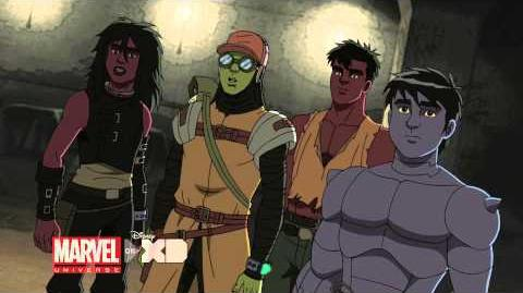 Marvel's Hulk and the Agents of S.M.A.S.H. - Clip 1