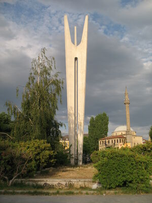 Monument of Brotherhood and Unity in Pristina