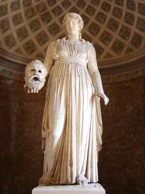 Melpomene Louvre