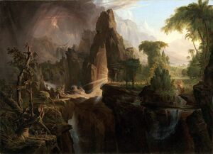 Cole Thomas Expulsion from the Garden of Eden 1828