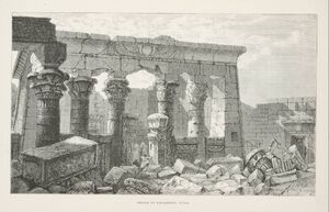Temple of Kalabsheh, Nubia (1890) - TIMEA