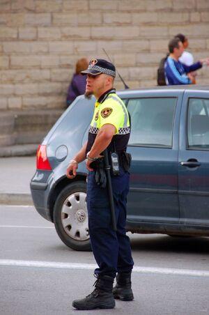 Barcelona Guàrdia UrbanmTraffic Cop