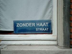 Straat zonder haat1