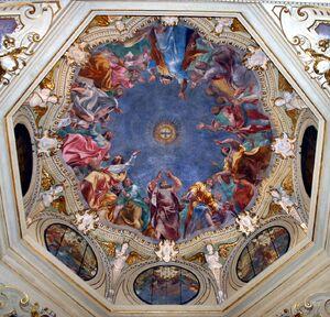 Milano - San Marco - Cappella di S. Giuseppe - Pentecoste - Foto Giovanni Dall'Orto 14-Apr-2007
