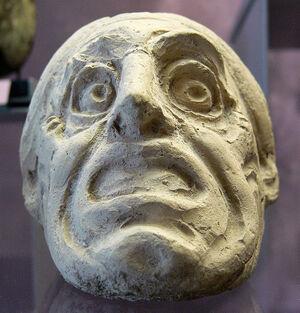 Tragische Maske Grossgriechenland Slg Ebnöther 575px